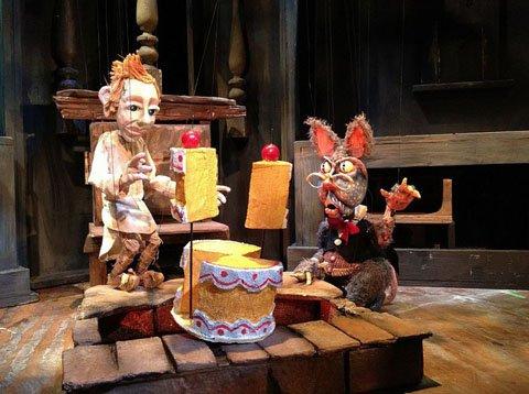 Open Eye Figure Theatre: Sorcerers Apprentice