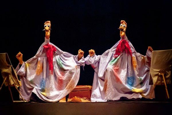 Teatro dei Piedi: Sonata for 4 Feet